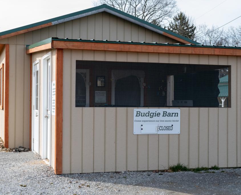 Budgie Barn